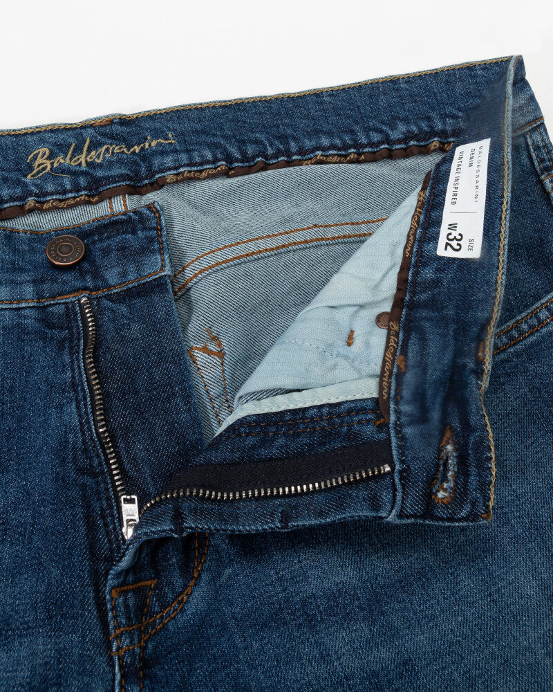 Spodnie Baldessarini 1424_16511_6824 niebieski - fot:2