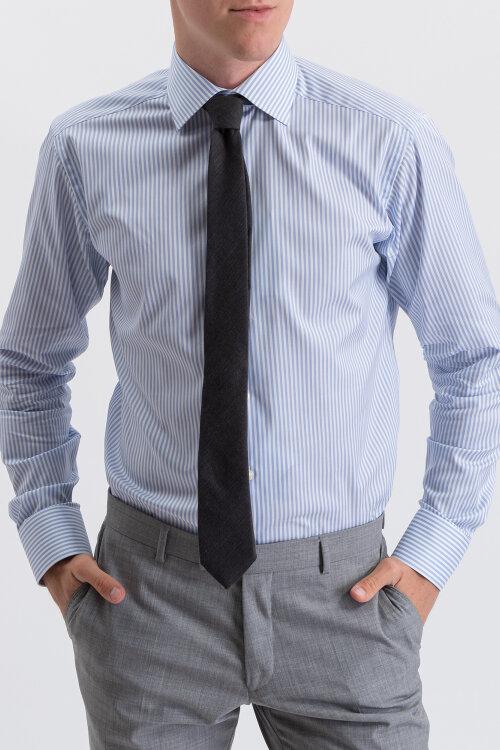 Krawat Oscar Jacobson 6580_4849_110 ciemnoszary