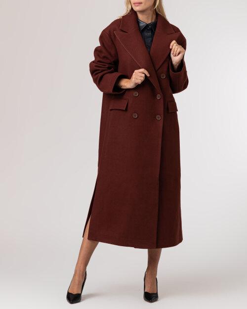 Płaszcz Na-Kd 1018-007241_BROWN brązowy