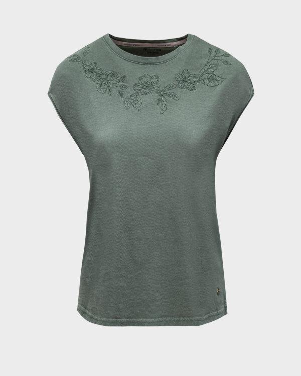 T-Shirt Mustang 1010792_6390 zielony