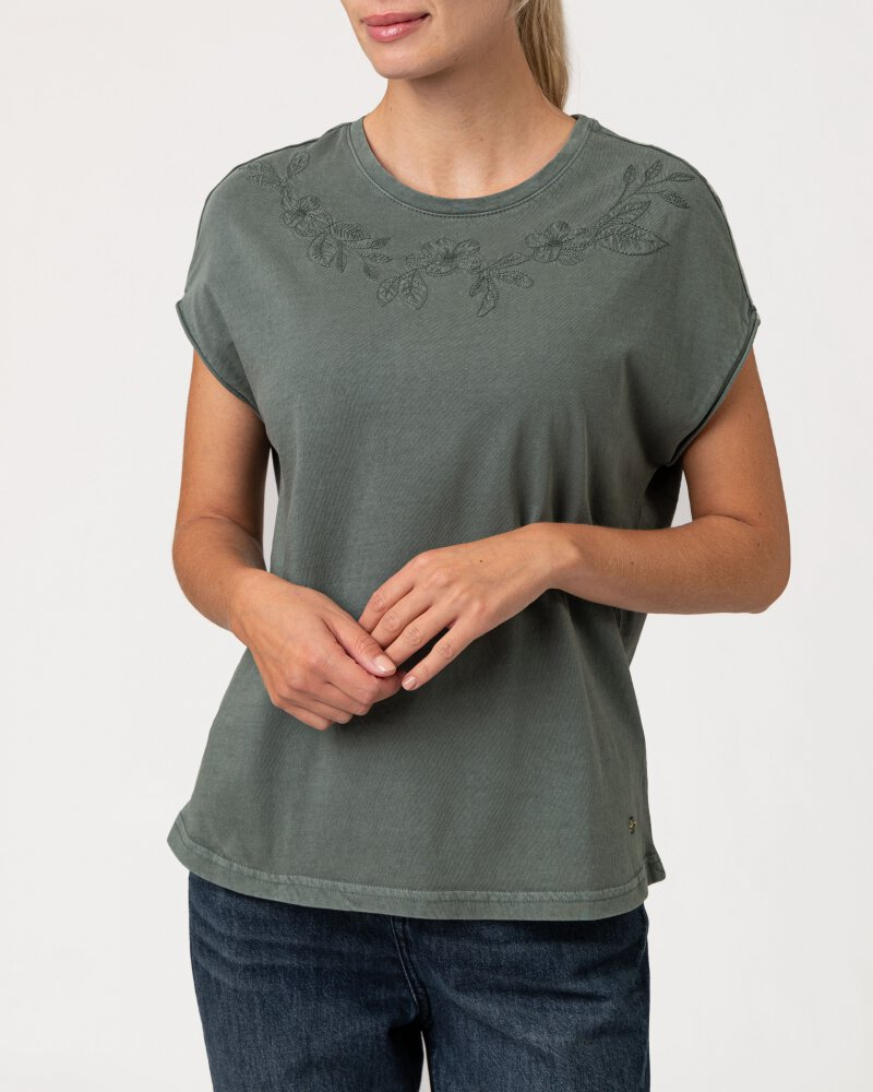 T-Shirt Mustang 1010792_6390 zielony - fot:2