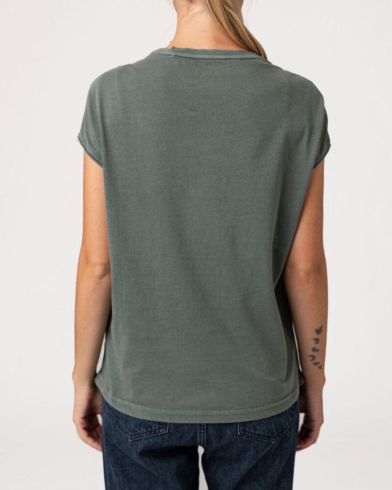 T-Shirt Mustang 1010792_6390 zielony - fot:4