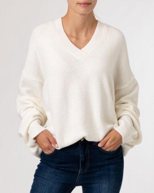 Sweter Na-Kd 1100-004327_OFF WHITE kremowy