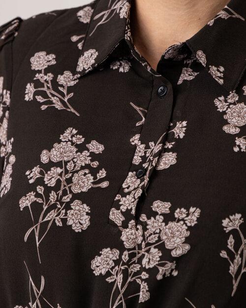 Sukienka Na-Kd 1018-007364_FLOWER PRINT czarny