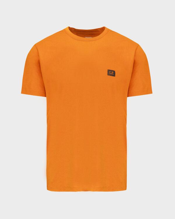 T-Shirt C.p. Company 11CMTS039A005100W_436 pomarańczowy