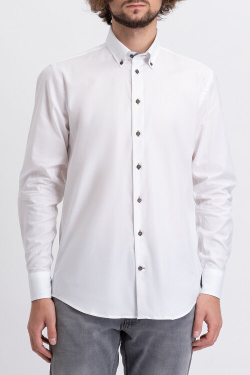 Koszula Bugatti 48520_0 9351_010 biały