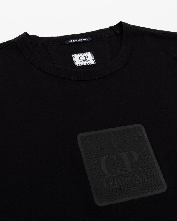 T-Shirt C.p. Company 11CMTS044A005100W_999 czarny