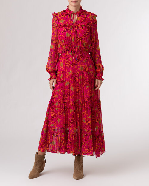 Sukienka Beatrice B 21FA6621KEA399_220 amarantowy