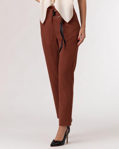 Spodnie Beatrice B 21FA1555P165_600 brązowy