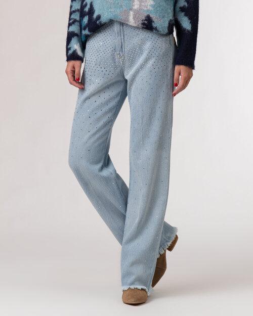 Spodnie Beatrice B 21FA1558LUX_520 niebieski