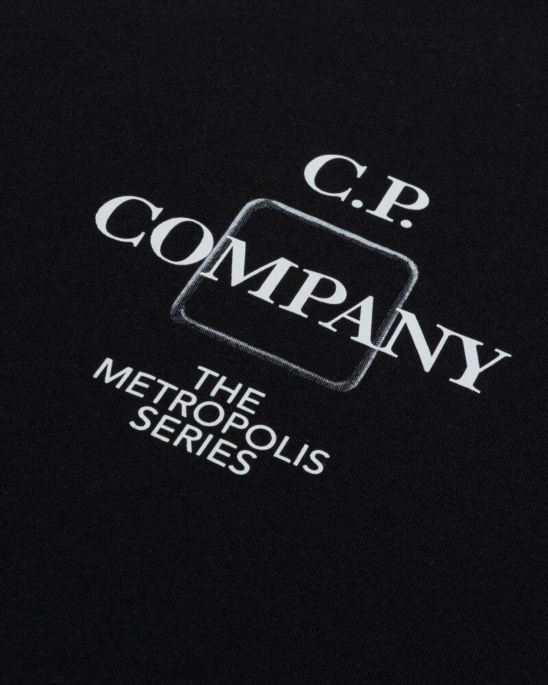 T-Shirt C.p. Company 11CMTS219A005100W_999 czarny - fot:3