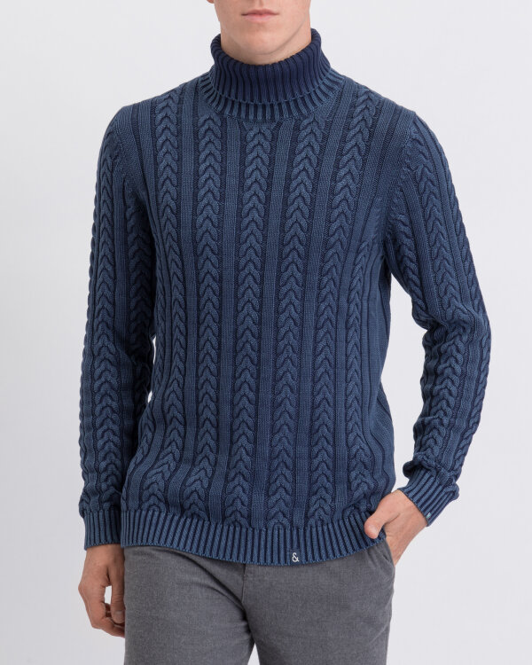 Sweter Colours & Sons 9219-102_699 niebieski