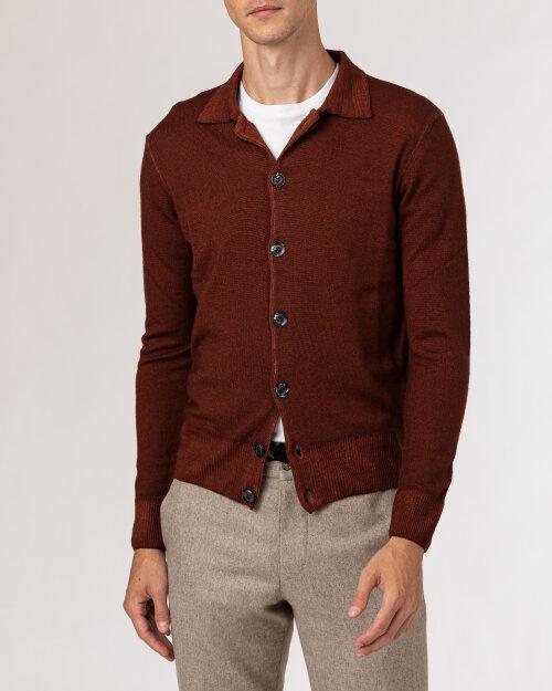 Sweter Oscar Jacobson LEZLEY 6968_5400_555 brązowy