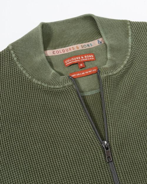 Bluza Colours & Sons 9221-107_799 OLIVE zielony