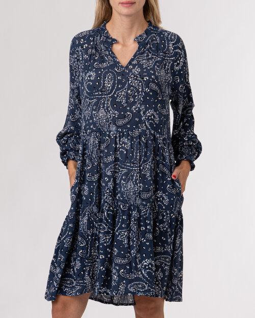 Sukienka Lollys Laundry 21434_3040_BLUE niebieski