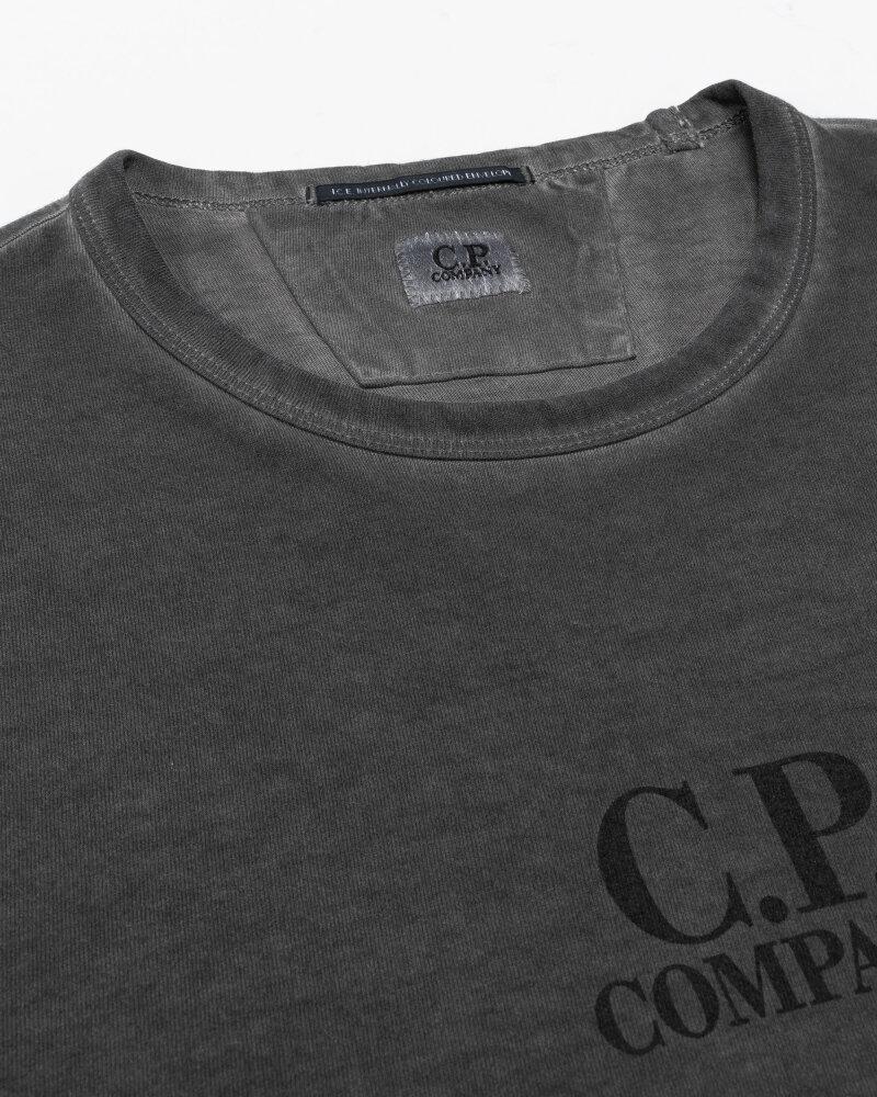 T-Shirt C.p. Company 11CMTS350A005697S_999 szary - fot:2
