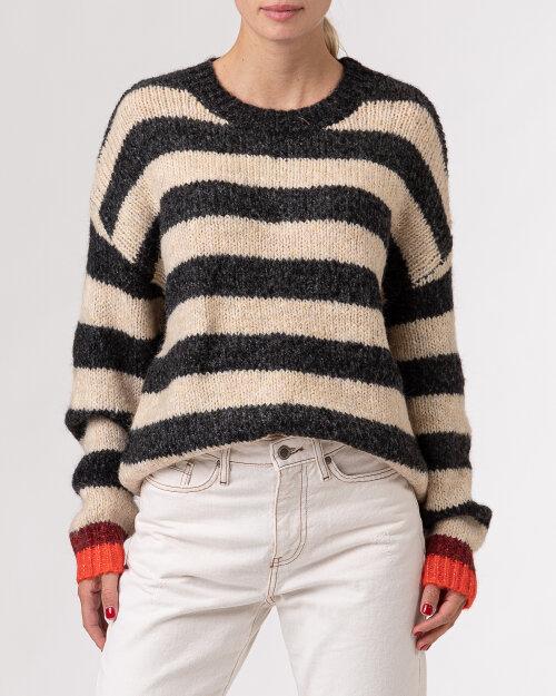 Sweter Lollys Laundry 21470_6010_BLACK ciemnoszary