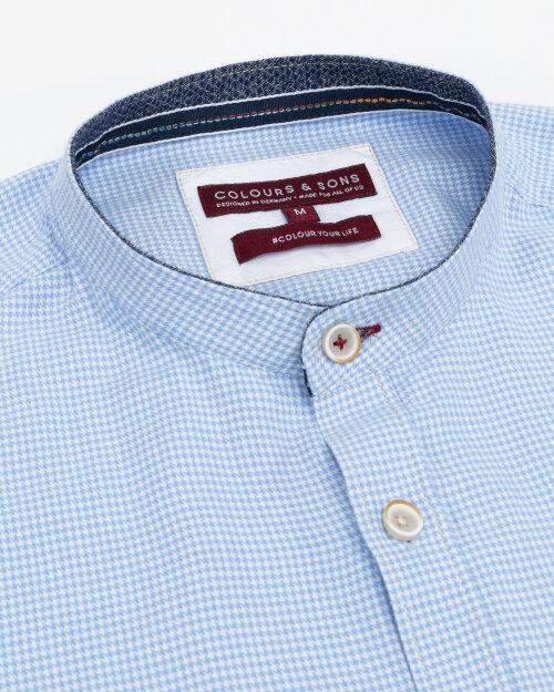 Koszula Colours & Sons 9221-310_312 HOUNDSTOOTH błękitny