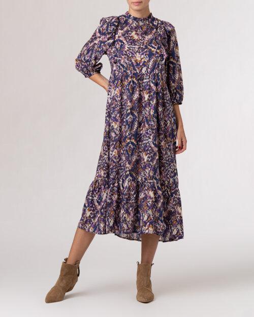 Sukienka Lollys Laundry 21460_3048_MULTI fioletowy