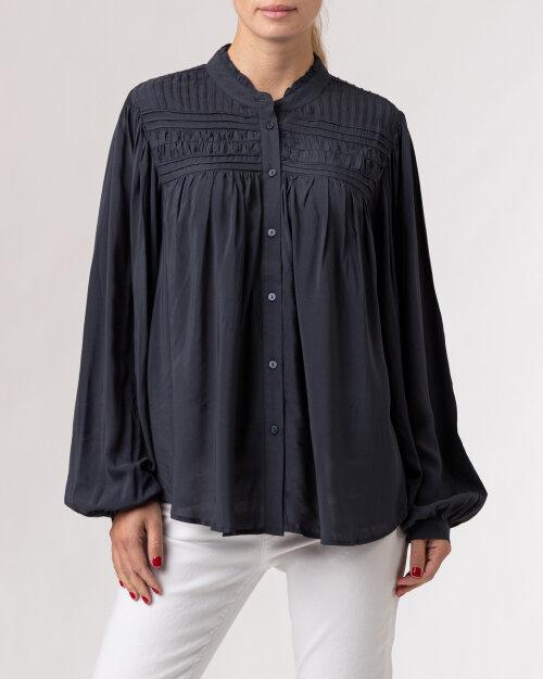 Koszula Lollys Laundry 21461_2036_WESHED BLACK granatowy