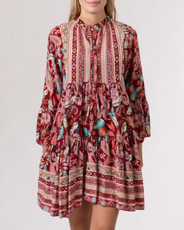 Sukienka Le Journal Coco 12RSU1138R_RÓŻ bordowy