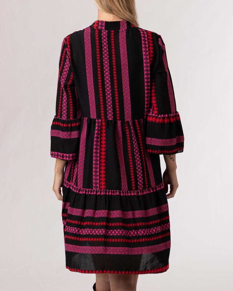 Sukienka Le Journal Coco 12RSU1895R_ROZ wielobarwny - fot:4