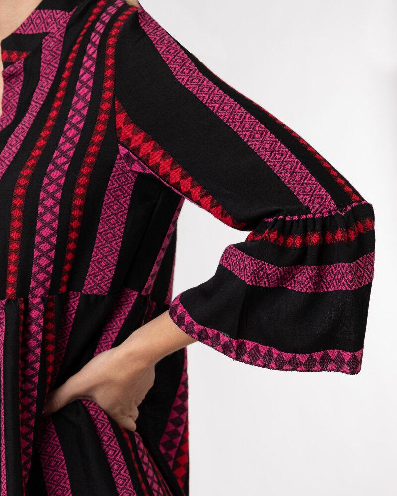 Sukienka Le Journal Coco 12RSU1895R_ROZ wielobarwny - fot:5