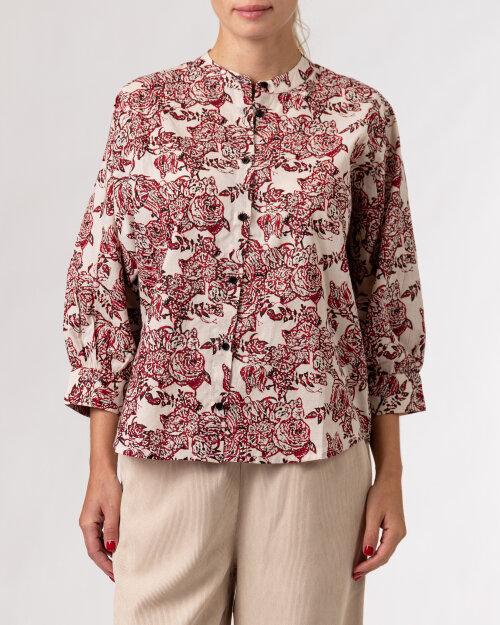 Koszula Lollys Laundry 21451_2020_RED beżowy