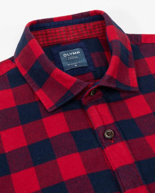 Koszula Olymp 407284_35 czerwony