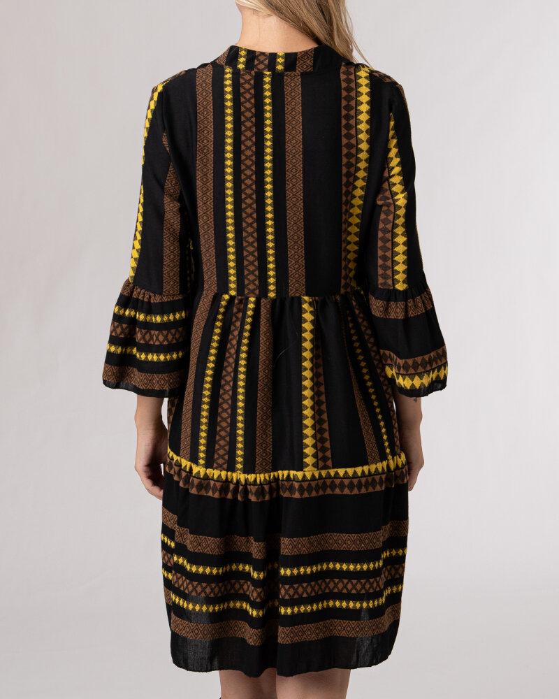 Sukienka Le Journal Coco 12RSU1895Y_ZOLTY żółty - fot:4
