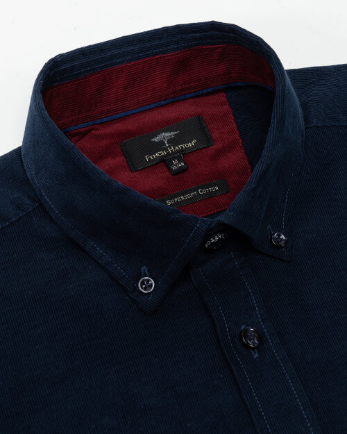 Koszula Fynch-Hatton 12218160_8165 granatowy
