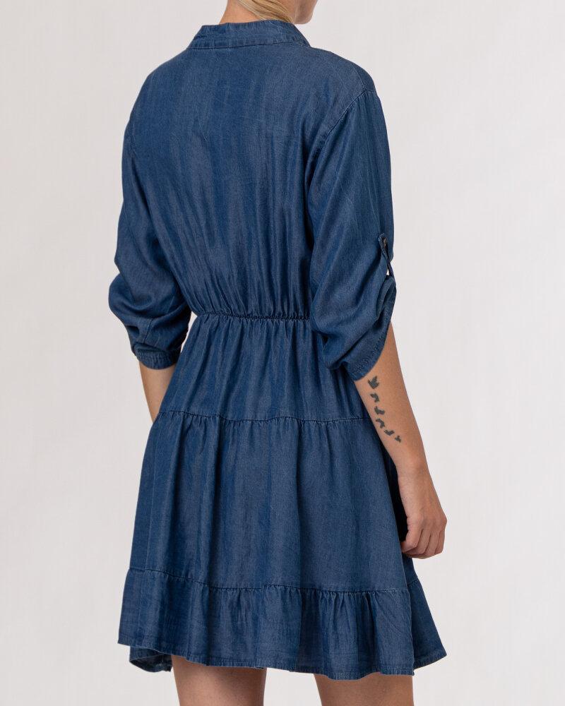 Sukienka Le Journal Coco 12DSU1223J_TENCEL niebieski - fot:6