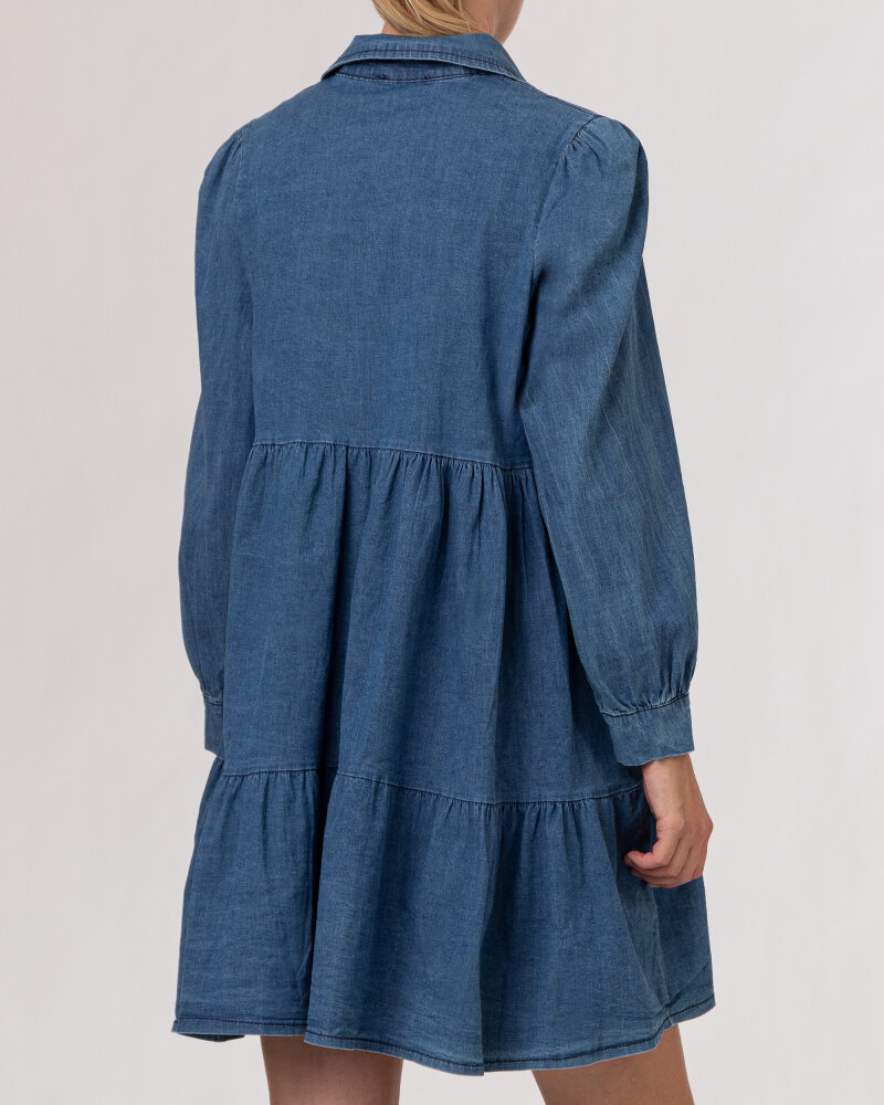 Sukienka Le Journal Coco 12DSU3997J_JEANS niebieski - fot:4