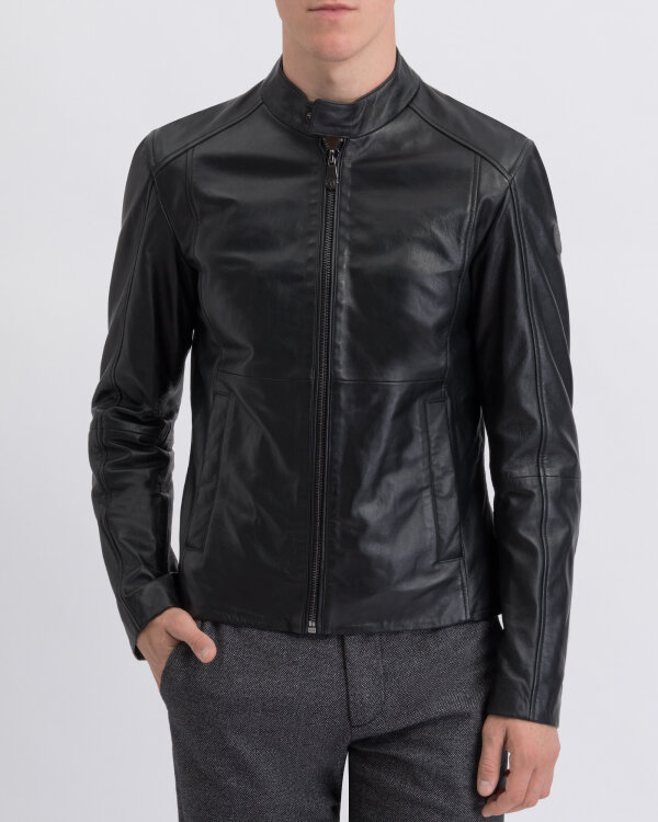 Kurtka Trussardi Jeans 52S00365_2P000079_K299 czarny