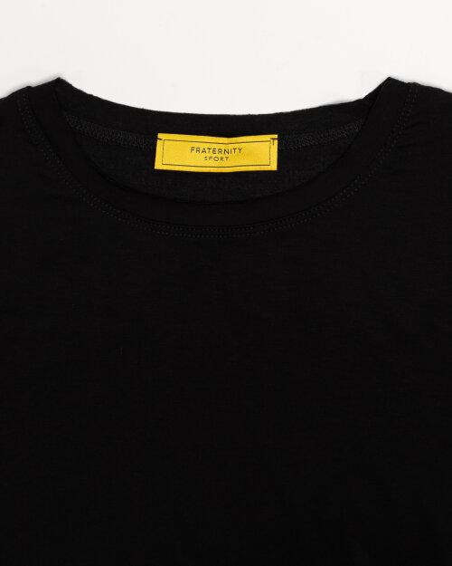 T-Shirt Fraternity NOS_W-TSH-0069 NOS_BLACK/W czarny