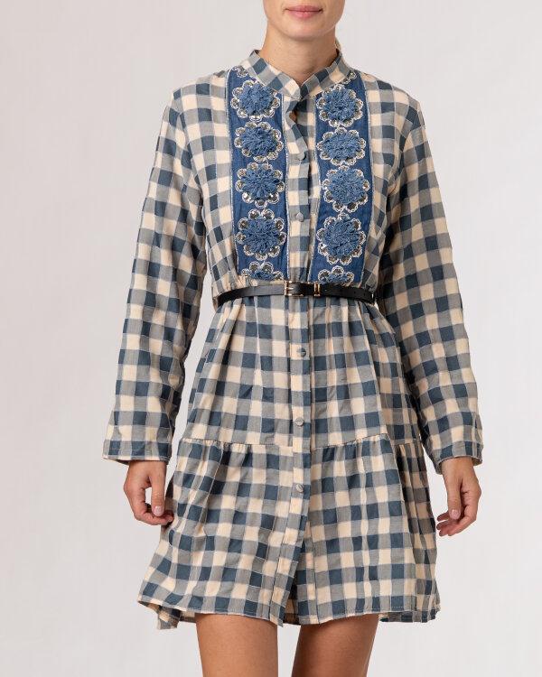 Sukienka Le Journal Coco 12DSU1217N_NIEBIESKI niebieski