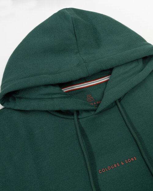Bluza Colours & Sons 9221-450_499 DARK GREEN ciemnozielony
