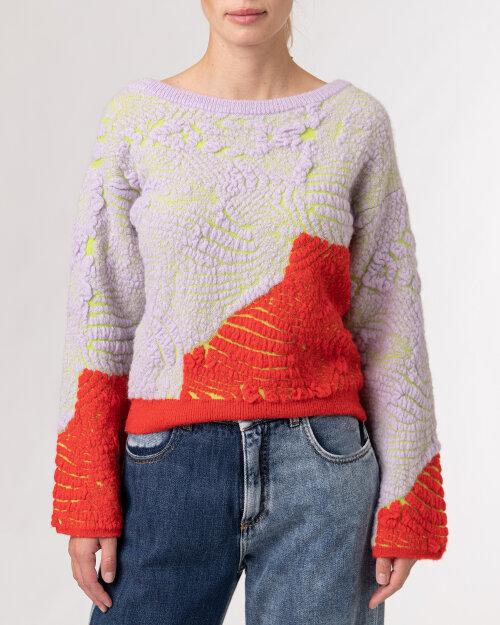 Sweter Beatrice B 21FA8156JACQ_420 pomarańczowy