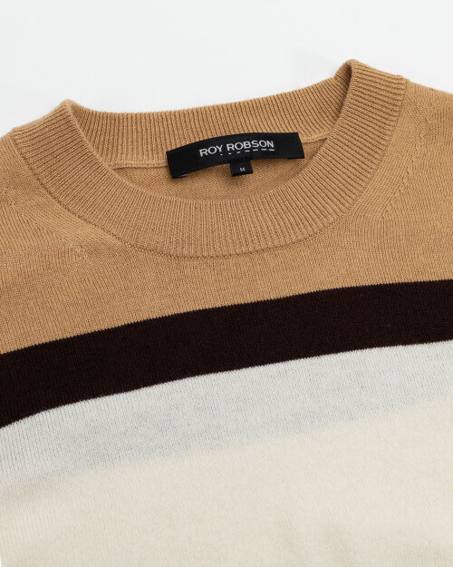 Sweter Roy Robson 091058641080600/01_D201 brązowy