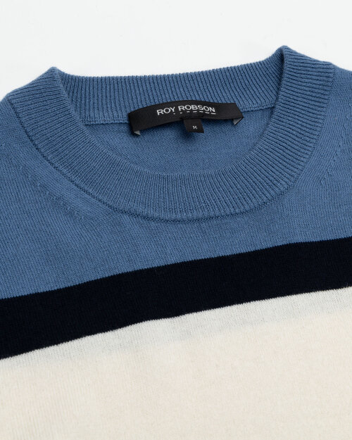 Sweter Roy Robson 091058641080600/01_D401 granatowy