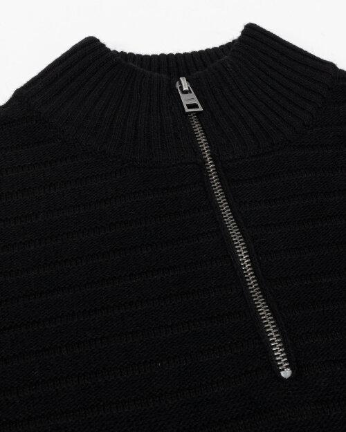Sweter Gas A2499_NYMAR/S HALF PATCH  _0200 czarny