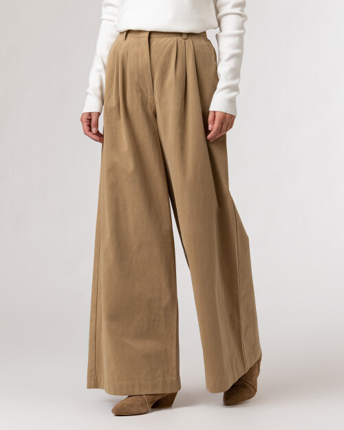 Spodnie Na-Kd 1018-007367_KHAKI beżowy