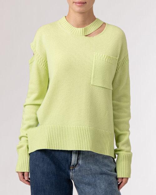 Sweter Beatrice B 21FA8107CASH10_710 zielony