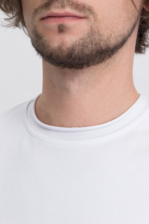 T-Shirt Philip Louis NOS_M-TSH-0042 NOS_WHITE biały