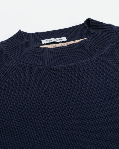 Sweter Colours & Sons 9221-125_699 NAVY granatowy