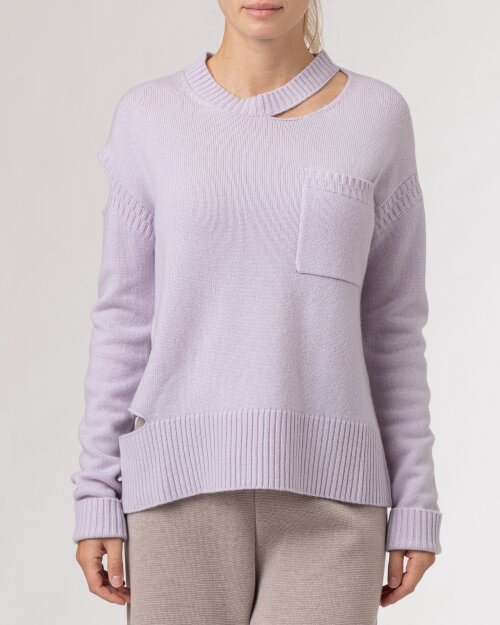 Sweter Beatrice B 21FA8107CASH10_420 fioletowy