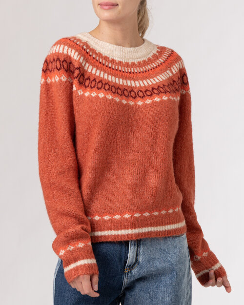Sweter Lollys Laundry 21456_6011_MAUVE rudy