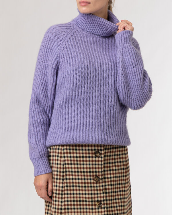 Sweter Trussardi  56M00450_0F000649_V060 fioletowy