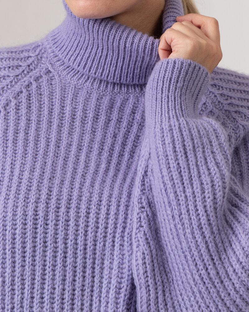 Sweter Trussardi  56M00450_0F000649_V060 fioletowy - fot:3
