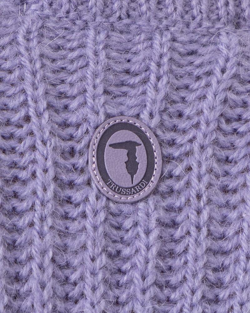 Sweter Trussardi  56M00450_0F000649_V060 fioletowy - fot:5